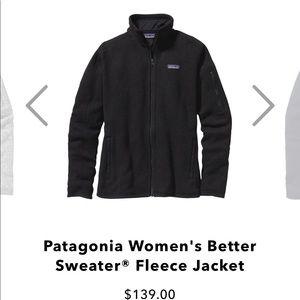 Patagonia Sweaters - Patagonia Better Sweater Fleece Jacket
